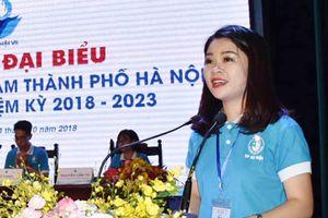 Đồng chí Chu Hồng Minh tái đắc cử chức Chủ tịch Hội Sinh viên thành phố Hà Nội