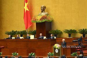Một số hình về lễ Tuyên thệ nhậm chức Chủ tịch nước