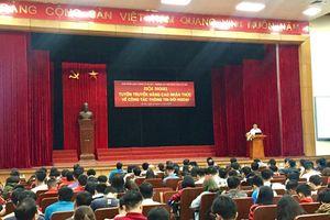 Tuyên truyền công tác thông tin đối ngoại tại Trường Đại học Bách khoa Hà Nội