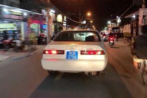 Xe ô tô BKS 80B 'đại náo' phố phường là...biển giả