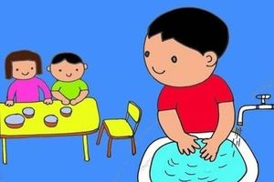 Tại sao rửa tay lại quan trọng đối với độ an toàn của bữa ăn?