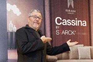 Huyền thoại thiết kế Philippe Starck lần đầu đến Việt Nam