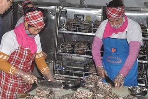 Tăng cường nâng cao chất lượng bữa ăn ca của người lao động