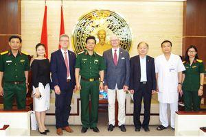 Bệnh viện Quân y 175 thúc đẩy hợp tác quốc tế