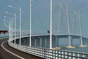 Khánh thành cầu vượt biển dài nhất thế giới: 'Voi Trắng' trên sông