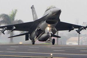 Lần đầu tiên chiến đấu cơ F-16 nâng cấp được chuyển cho Đài Loan