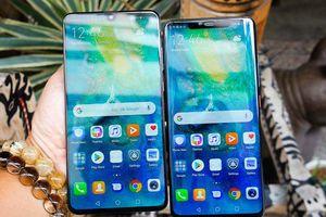 Huawei đem bộ đôi smartphone Mate 20 và Mate 20 Pro về Việt Nam