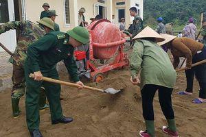Dấu ấn của người lính 'quân hàm xanh' ở vùng biên Hà Tĩnh