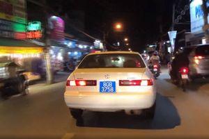 Xe biển xanh gây náo loạn Sài Gòn dùng biển giả
