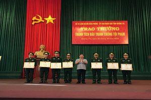 Quảng Trị: Trao thưởng thành tích đấu tranh chống tội phạm ma túy