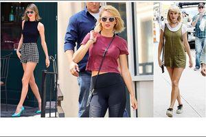 Bí quyết giữ dáng khỏe và đẹp của Taylor Swift