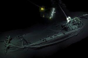 Tìm thấy xác tàu cổ nhất thế giới tại Biển Đen