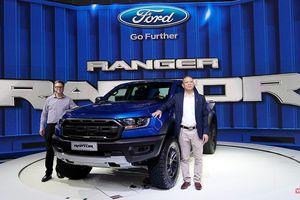 Ford Ranger Raptor có giá 1,198 tỷ đồng, tháng 11/2018 bắt đầu giao xe cho khách