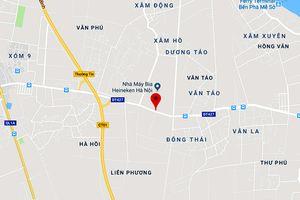 Hà Nội sắp có đường mới nối QL21B đến Pháp Vân - Cầu Giẽ