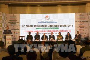 Hội nghị Lãnh đạo nông nghiệp toàn cầu tại Ấn Độ