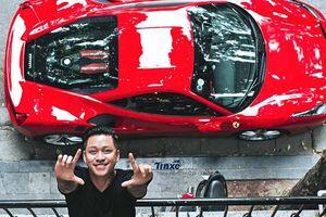 Gặp tai nạn nát đầu siêu xe Ferrari chục tỷ, vì sao Tuấn Hưng lại luôn nói rằng mình gặp may?