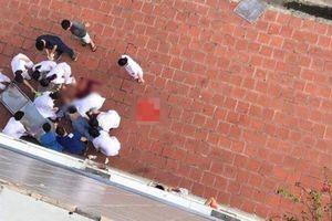 Nam bệnh nhân tâm thần lao từ tầng 6 Bệnh viện Đức Giang xuống đất tử vong