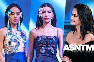 Minh Tú, Thanh Vy đẹp 'hút hồn', Hoa hậu Hoàn vũ Pia lộ vẻ thừa cân tại chung kết Asia's Next Top Model 2018