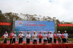 Khởi công xây dựng trụ sở cơ quan chính trị - hành chính thành phố Sơn La