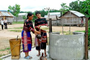 Thêm 15 tháng chương trình nước sạch do World Bank tài trợ