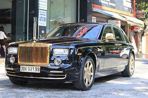 Ngây ngất với Rolls-Royce Phantom rồng vàng, 35 tỷ tại Hải Phòng