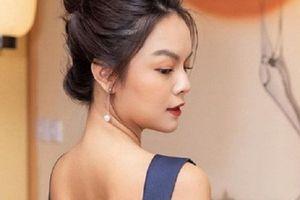 Ngắm vẻ gợi cảm hút mắt của 'gái hai con' Phạm Quỳnh Anh