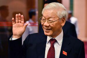 Đại sứ Hoa Kỳ Kritenbrink chúc mừng tân Chủ tịch nước Nguyễn Phú Trọng