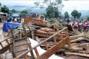 Mưa lũ tại Lào Cai và Hà Giang khiến 2 người chết và mất tích