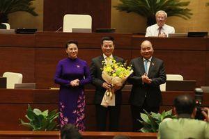Phê chuẩn ông Nguyễn Mạnh Hùng giữ chức vụ Bộ trưởng Bộ Thông tin và Truyền thông