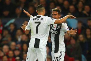 Ronaldo 'im tiếng', Juventus vẫn dễ dàng đánh bại MU ngay tại Old Trafford