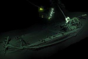 Tìm thấy xác tàu đắm nguyên vẹn cổ nhất thế giới ở Biển Đen