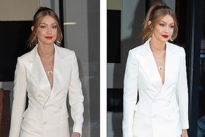 Gigi Hadid thể hiện đẳng cấp sang trọng với vest khoét sâu gợi cảm