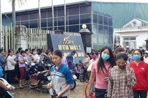 Thanh Hóa: Gần 3.000 công nhân đình công vì bị 'ép tăng ca'?