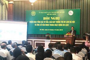 Hà Nội triển khai tổng đài tư vấn, giải đáp thông tin du lịch