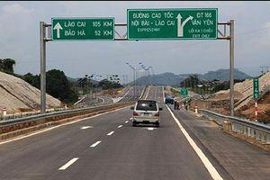 Cao tốc Nội Bài - Lào Cai lại 'đóng cửa' với xe tải trọng lớn