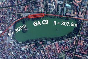 Hà Nội khẳng định ga ngầm C9 không xâm phạm di tích Hồ Gươm