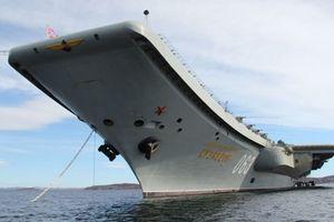 Nga sắp chế tạo tàu sân bay 'khủng' hơn tàu Đô đốc Kuznetsov
