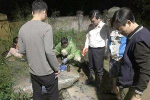 Hà Nội: Bắt quả tang Urenco 6 xả nước rỉ rác ra hồ Xuân Khanh