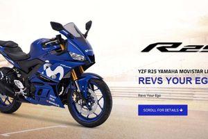 Xe tay côn Yamaha YZF-R25 bản Movistar MotoGP ra mắt, giá bán 90,5 triệu đồng