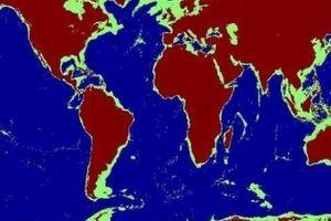 Nếu nước biển hạ 500m thì bản đồ Đông Á sẽ ra sao?