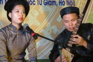 Liên hoan ca trù toàn quốc sẽ diễn ra tại Hà Tĩnh