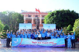 Hơn 80 hội viên, thanh niên tham gia Hành trình 'Tuổi trẻ Thành phố vì biển, đảo quê hương'