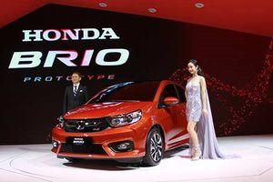 Cận cảnh xe ôtô siêu rẻ Honda Brio 2018 tại Việt Nam