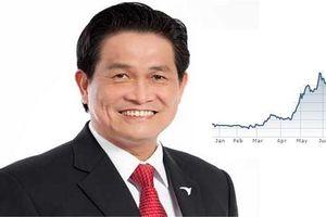 Đại gia Đặng Văn Thành bất ngờ tái xuất trên sàn chứng khoán