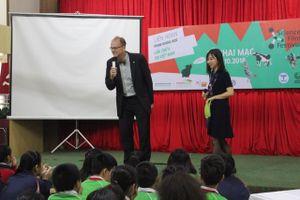 Khai mạc liên hoan phim khoa học tại trường THPT Thực nghiệm tại Hà Nội