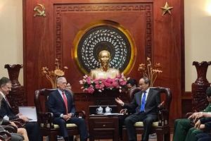 Chuyến thăm của Bộ trưởng Quốc phòng Mỹ tới Việt Nam thúc đẩy quan hệ song phương