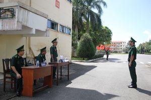 Kiểm tra toàn diện công tác Biên phòng tại Trường Trung cấp Biên phòng 2