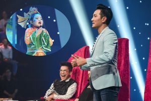 Nguyễn Phi Hùng cười 'té ghế' với con gái nuôi Hứa Minh Đạt