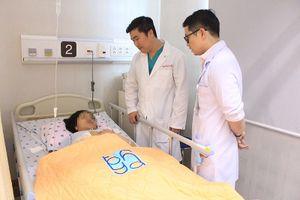 Cứu sống thai phụ bị vỡ túi phình động mạch não nguy hiểm