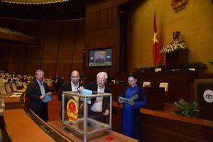 Danh sách 48 người được lấy phiếu tín nhiệm tại kỳ họp thứ 6 Quốc hội khóa XIV